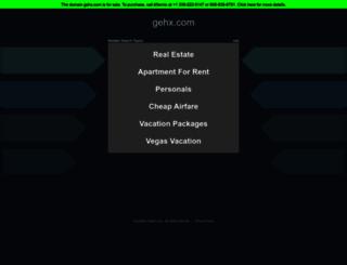 gehx.com screenshot