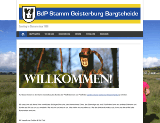 geisterburg.de screenshot