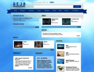 geja.org.br screenshot