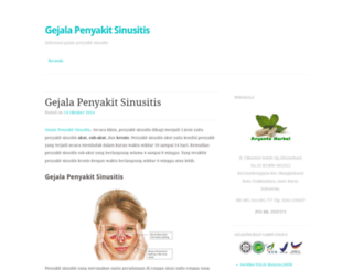 gejalapenyakitsinusitis.wordpress.com screenshot