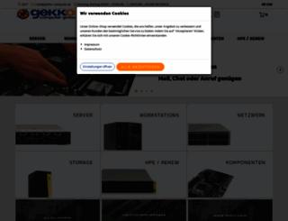 gekko-computer.de screenshot