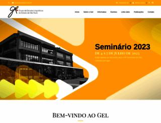 gel.org.br screenshot