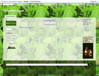 gelamunteanu.blogspot.ro screenshot