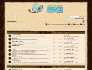 gelatinousdudes.com screenshot