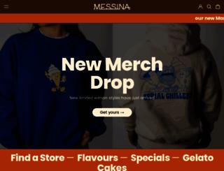 gelatomessina.com screenshot