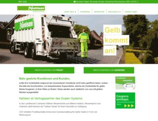 gelb-kommt-an.de screenshot