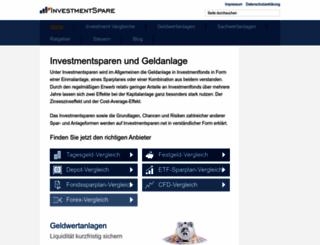 geldanlage-vergleich.org screenshot