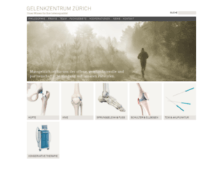 gelenkzentrum.com screenshot