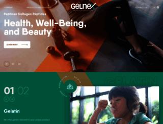 gelnex.com.br screenshot