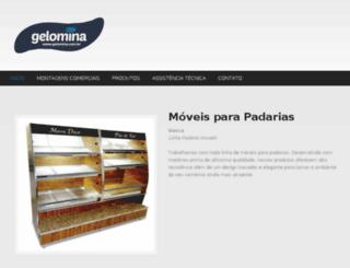 gelomina.com.br screenshot