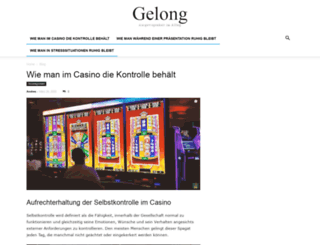 gelong.de screenshot