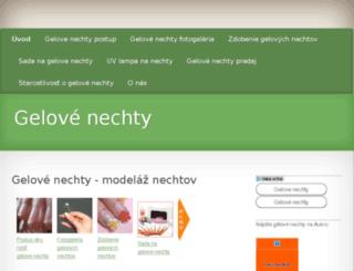 gelove-nechty.mikrostranky.com screenshot