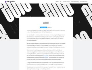 gem-design.co.uk screenshot
