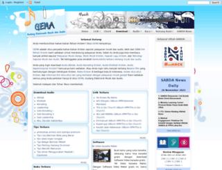 gema.sabda.org screenshot