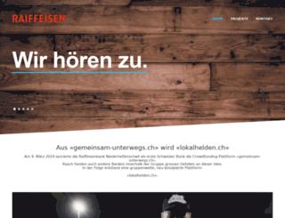 gemeinsam-unterwegs.ch screenshot