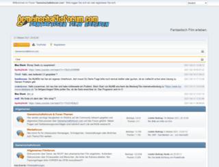 gemeinschaftsforum.com screenshot