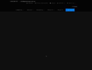 gemenergy.com.au screenshot