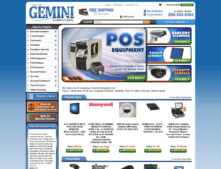 geminicomputers.com screenshot
