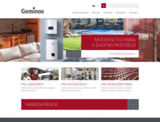 geminox.cz screenshot