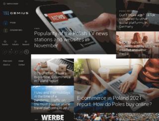 gemius.ru screenshot