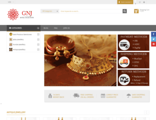 gemnjewelery.com screenshot