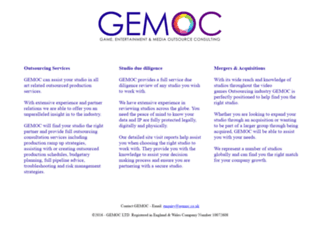gemoc.co.uk screenshot