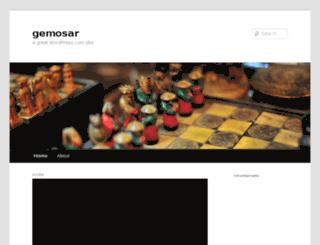 gemosar.wordpress.com screenshot