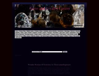 gemsandjewelrylovers.blogspot.com screenshot
