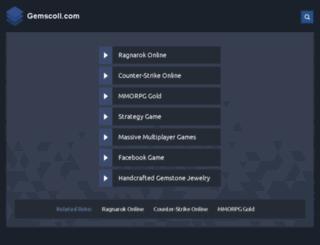gemscoll.com screenshot