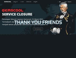 gemscool.com screenshot