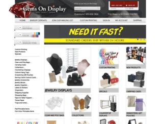 gemsondisplay.com screenshot