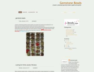 gemstone-gemstonebeads.blogspot.com screenshot