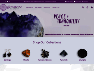 gemstonefactory.com screenshot