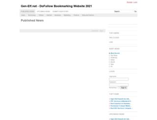 gen-eff.net screenshot