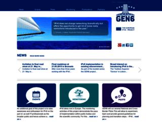 gen6-project.eu screenshot