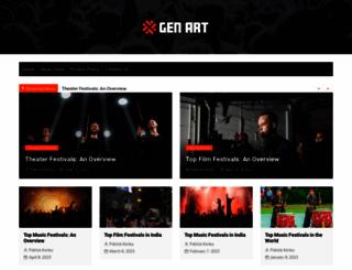 genart.org screenshot