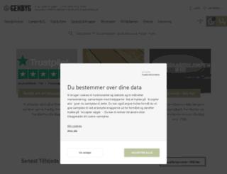 genbyg.dk screenshot