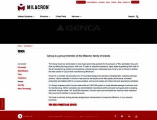 genca.com screenshot