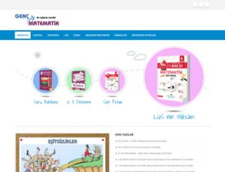 gencmatematik.com screenshot