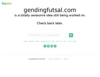 gendingfutsal.com screenshot