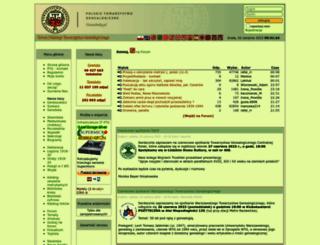 genealodzy.pl screenshot