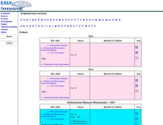 genealogy.babr.ru screenshot