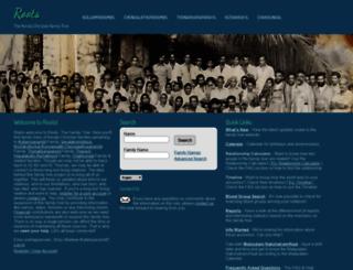 genealogy.rocksea.org screenshot