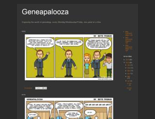 geneapalooza.blogspot.com screenshot