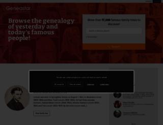 geneastar.org screenshot