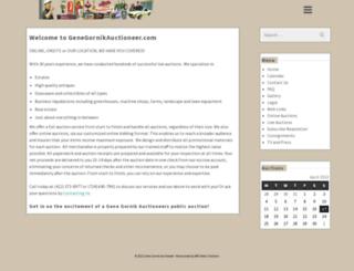 genegornikauctioneer.com screenshot