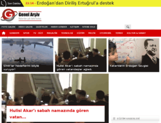 genelarsiv.com screenshot