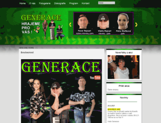 generacemb.cz screenshot