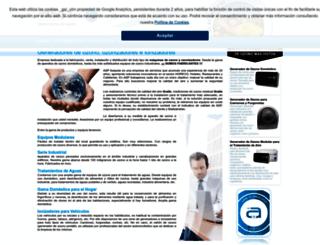 generadoresdeozono.net screenshot
