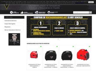 generadoresymaquinaria.com screenshot